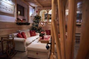 Regionalny pensjonat Zakopane salon