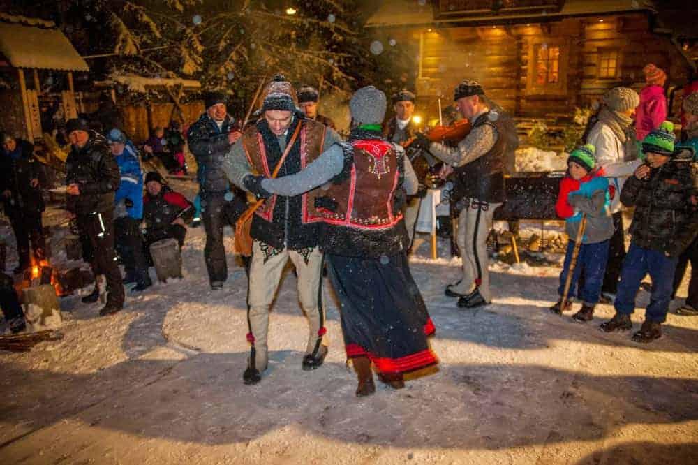Noclegi z wyżywieniem w Zakopanem taniec