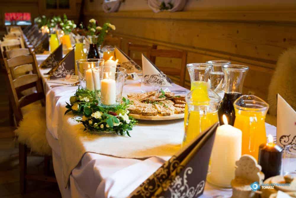 Noclegi z wyżywieniem w Zakopanem kolacja
