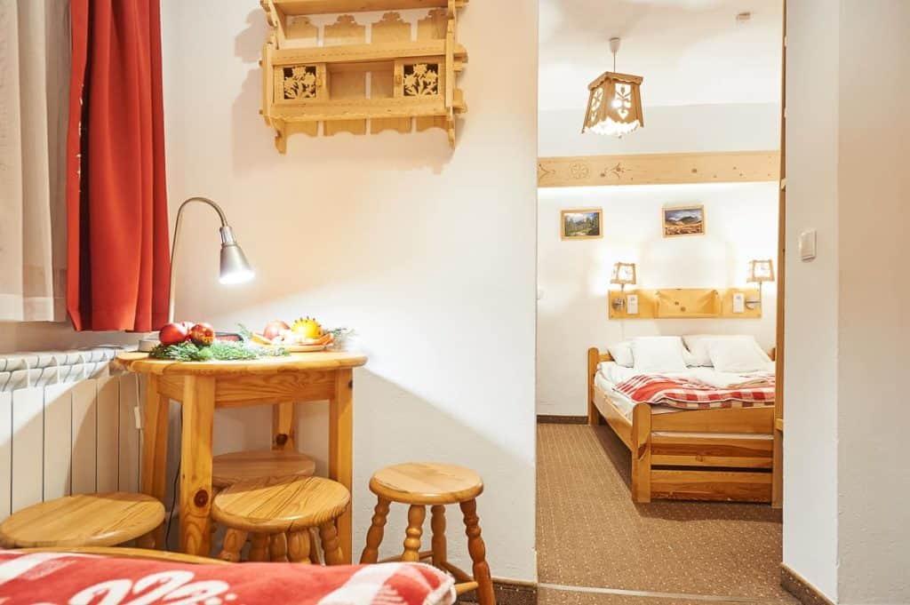 Trzyosobowy pokój w Zakopanem