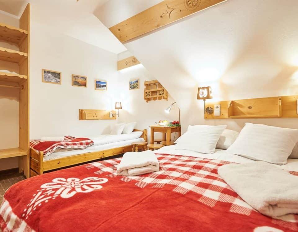 Czteroosobowy pokój w Zakopanem
